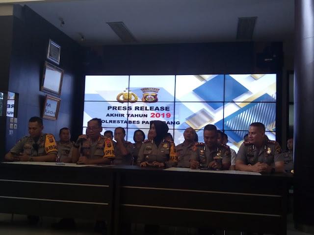 2019 Tingkat Kriminal di Palembang Menurun