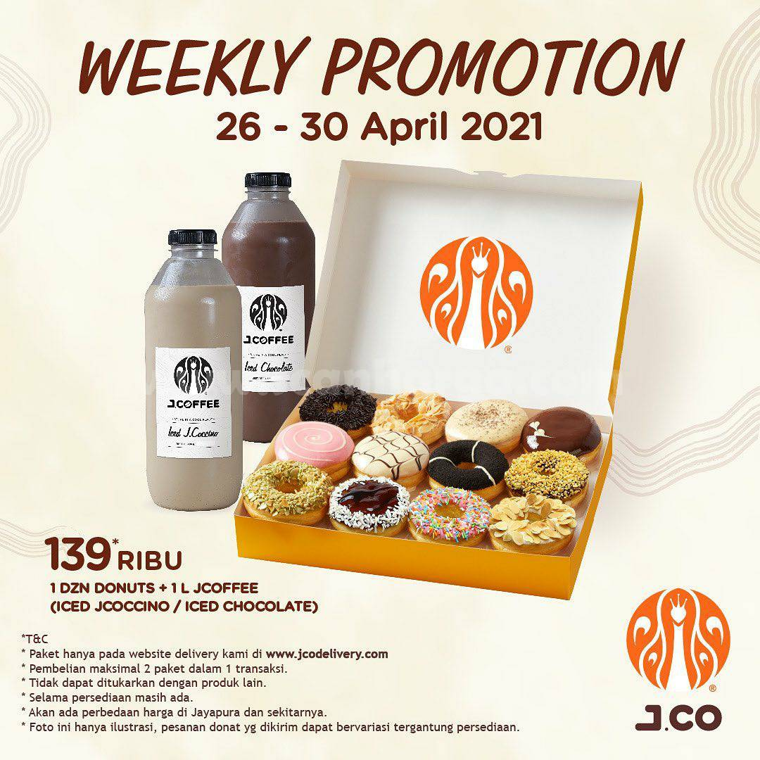 JCO Weekly Promotion | 26 - 30 April 2021