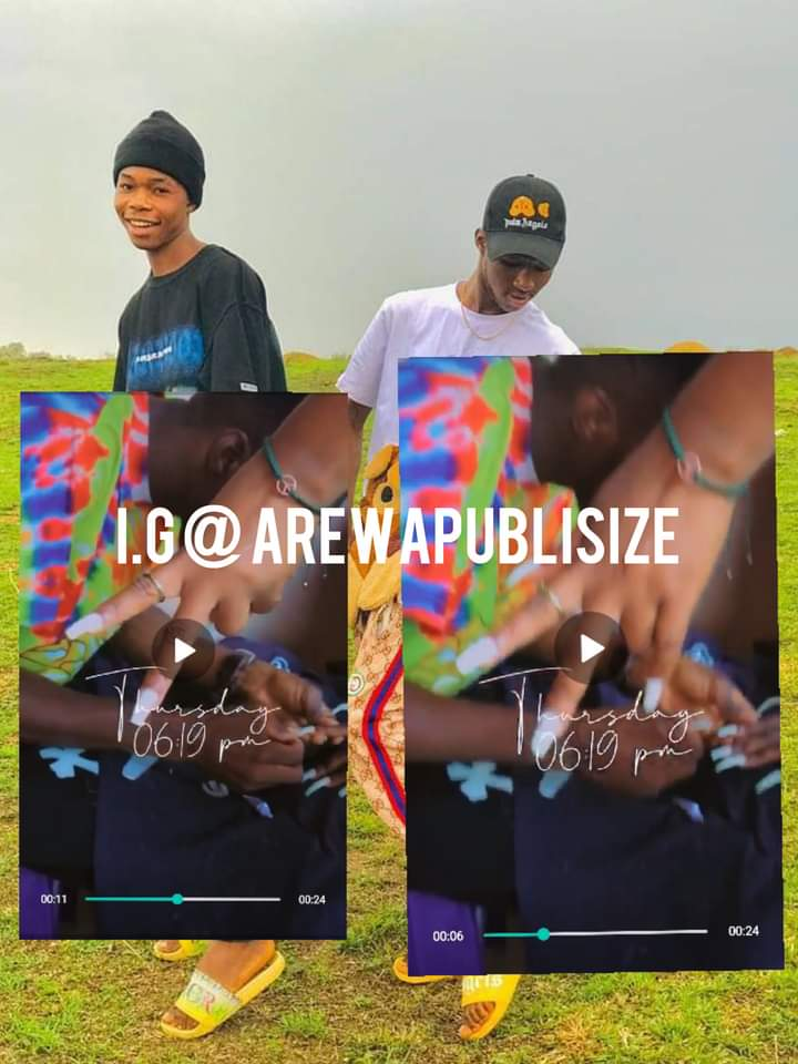 [Viral Video] Watch moment SMG Hitboi was fixing nails for a lady #Arewapublisize
