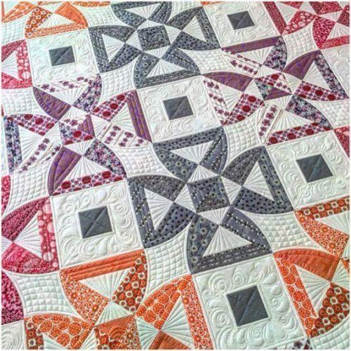 Twisted Blossom Quilt - Free Pattern