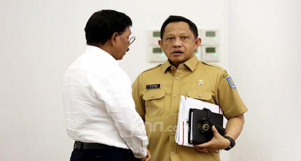 Jokowi Ancam Reshuffle, Tito Ngaku Hanya Bisa Pasrah