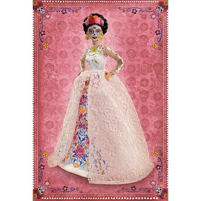 Mattel saca a la venta la Barbie Día de Muertos 2020
