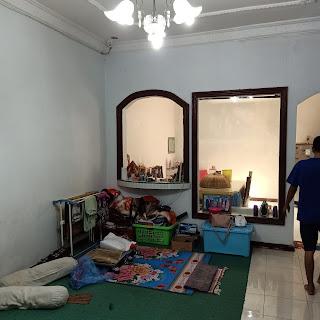 Ruang Keluarga Rumah Murah Bonus AC, Gordyn, Water Heater Di Karya Wisata Ujung Medan Johor