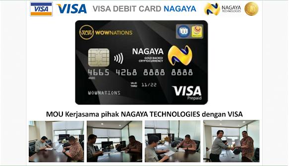 Nagaya juga melakukan MoU dengan Pihak Visa