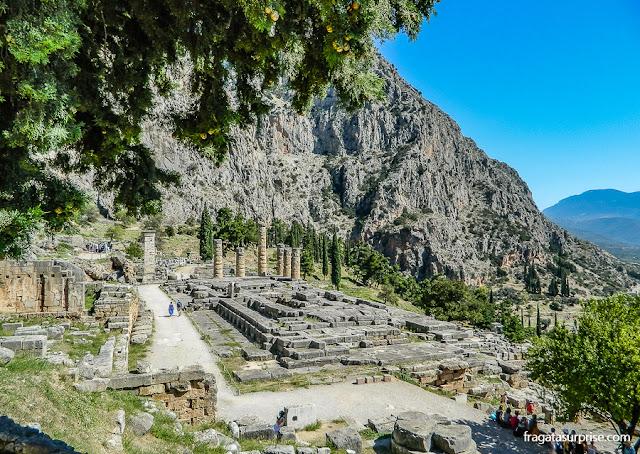 Sítio Arqueológico de Delfos, Grécia