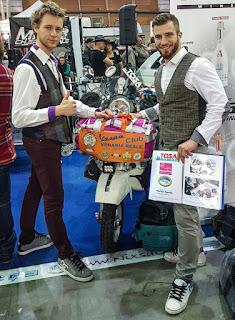 Vespa Crazy Riders - Matteo e Mattia