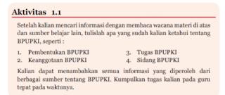Aktifitas 1.1 Setelah Kalian Mencari Informasi , Tugas PKN Kelas 7