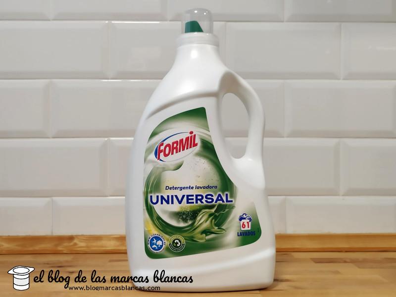 Detergente para lavadora universal FORMIL (Lidl)