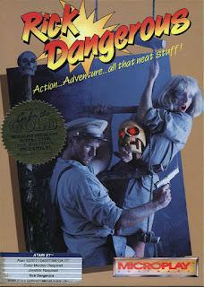 Jogue gratis Rick Dangerous para Atari ST