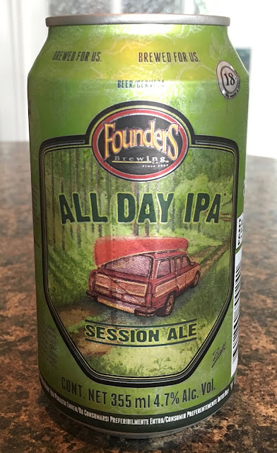 Founders Brewing All Day IPA Beer