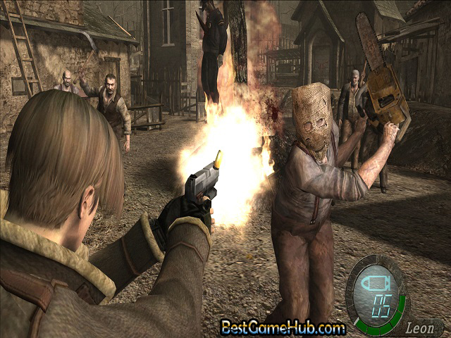 Resident Evil 4 Ultimate HD Edition PC Repack Game Free Download