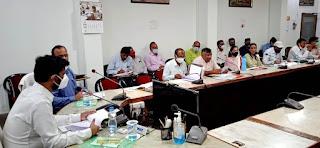 जिला जल उपयोगिता समिति की बैठक हुई आयोजित