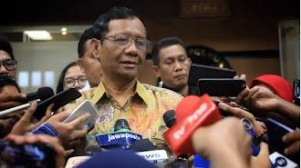 Mahfud Temui Tito Pastikan Kesiapan Pilkada 2020