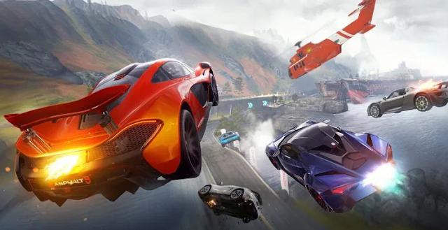 تحميل لعبة أسفلت 9 لعبة سباق السيارات الأسطورية Asphalt9 مهكرة 2020