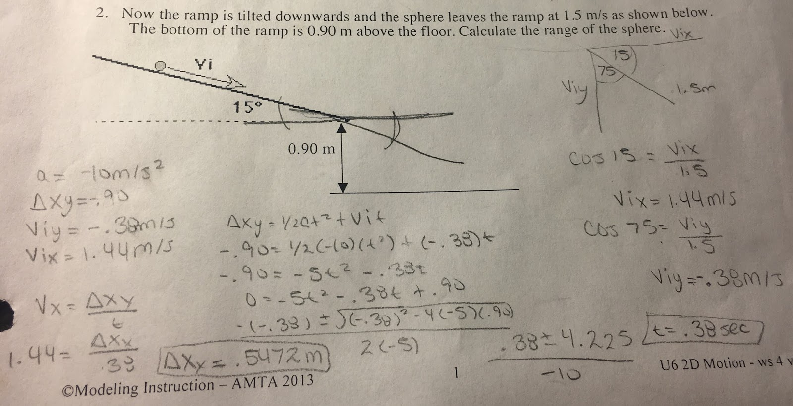 Phun with Physics: Projectile Motion