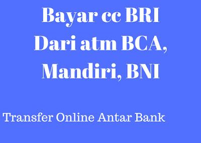 Gambar Metode pembayaran kartu kredit BRI