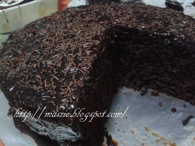Resepi Kek Coklat Moist Kukus Sukatan Cawan Santapan Senja