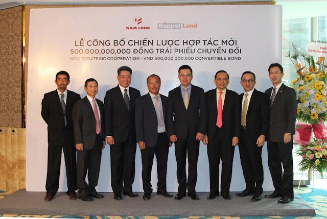 Lễ công bố chiến lược hợp tác với Keppel Land