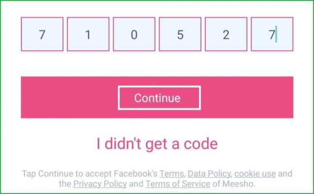 Meesho-code-verification