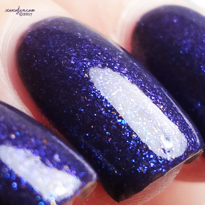 xoxoJen's swatch of Native War Paints Friday the 13th