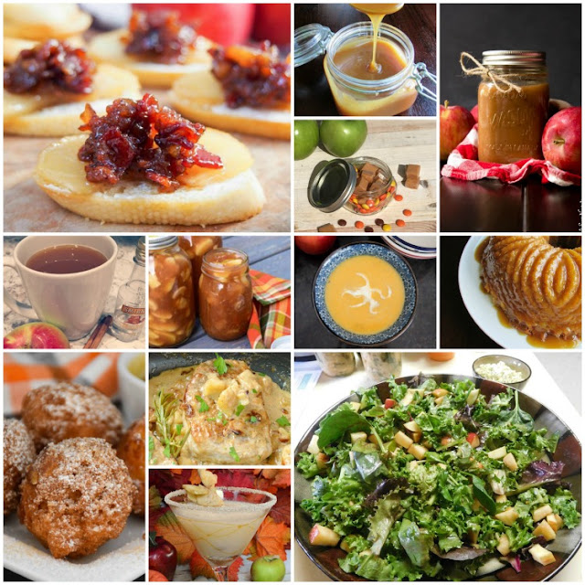 collection of great apple recipes