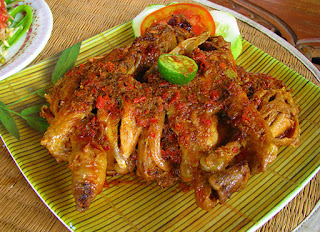 Resep Ayam Panggang Betutu