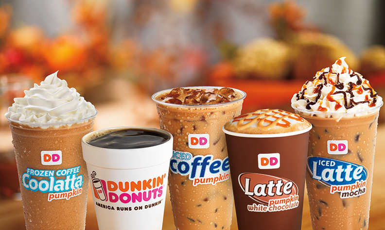 News: Dunkin' Donuts - Fall 2013 Featured Pumpkin Menu ...