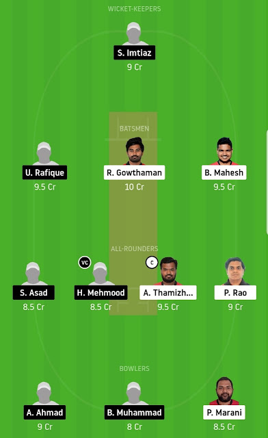 SSK Vs SICC Dream11 Prediction 3rd Match [Free Team]