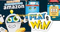 Logo Play&Win: gioca e vinci gratis 2.000 buoni Amazon da 5 e fino a 100€