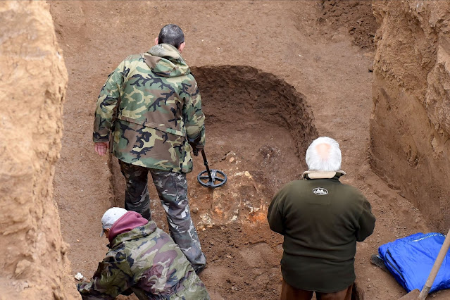 Burial Mound of Scythian Warlord from Southern Urals found on the Don