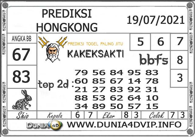 Prediksi Togel HONGKONG DUNIA4D 19 JULI 2021