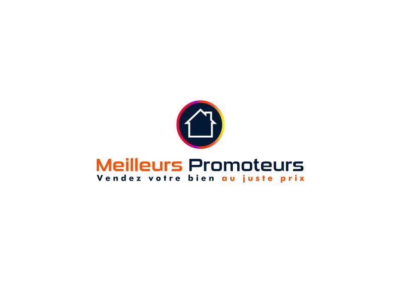 logo luxe rond couleurs promoteur maison