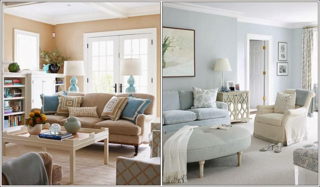 d coration salon en pastels d coration salon d cor de salon. Black Bedroom Furniture Sets. Home Design Ideas