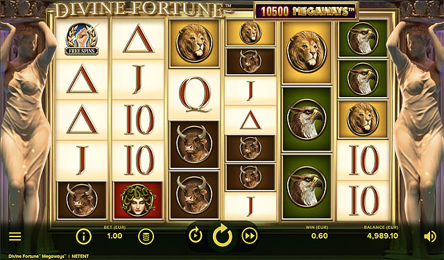 Ulasan Slot NetEnt Indonesia Divine Fortune Megaways