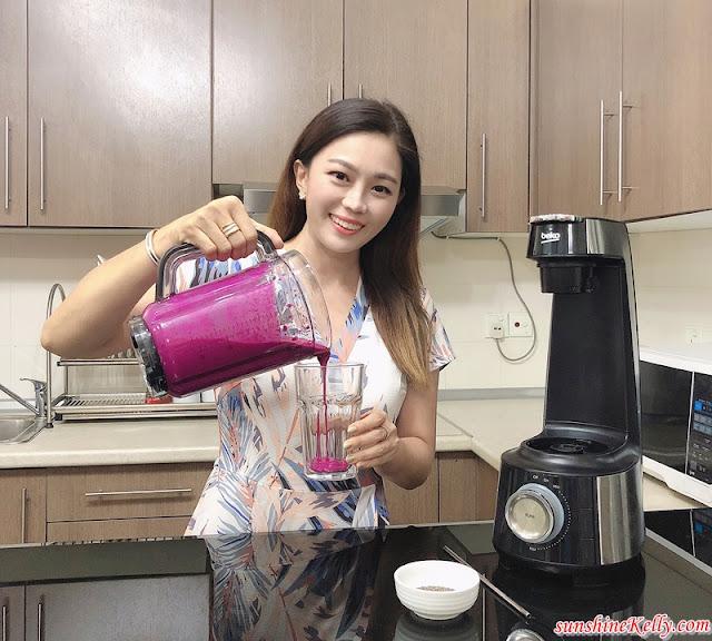 Superfood Smoothies Recipe, Beko Vacuum Blender, Beko, Beko Malaysia, Blender, Dragon Fruits & Oats Smoothies, Smoothies Recipe, Superfood, Smoothies, Cooking Recipe, Food, Healthy Breakfast