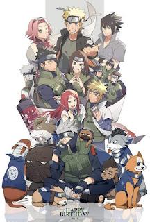 Gambar kakashi dan dan team