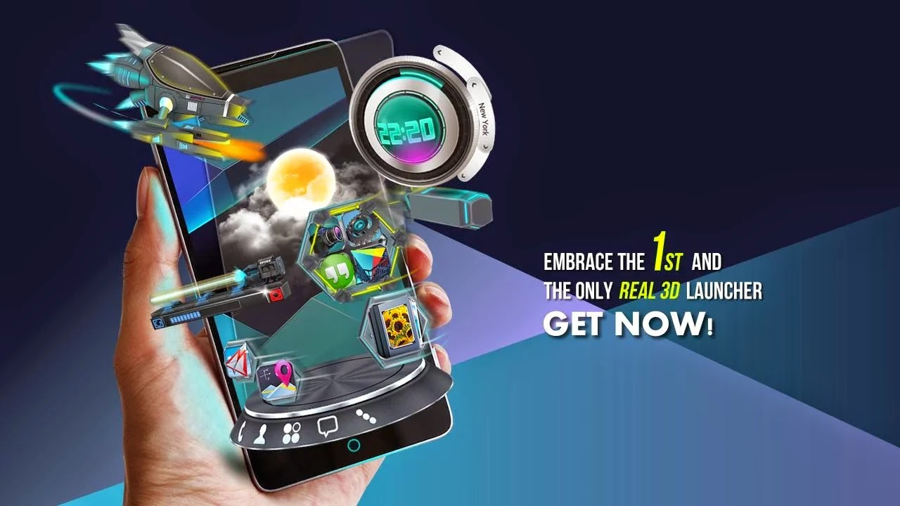 Next Launcher 3D Shell v3.11 Android APK