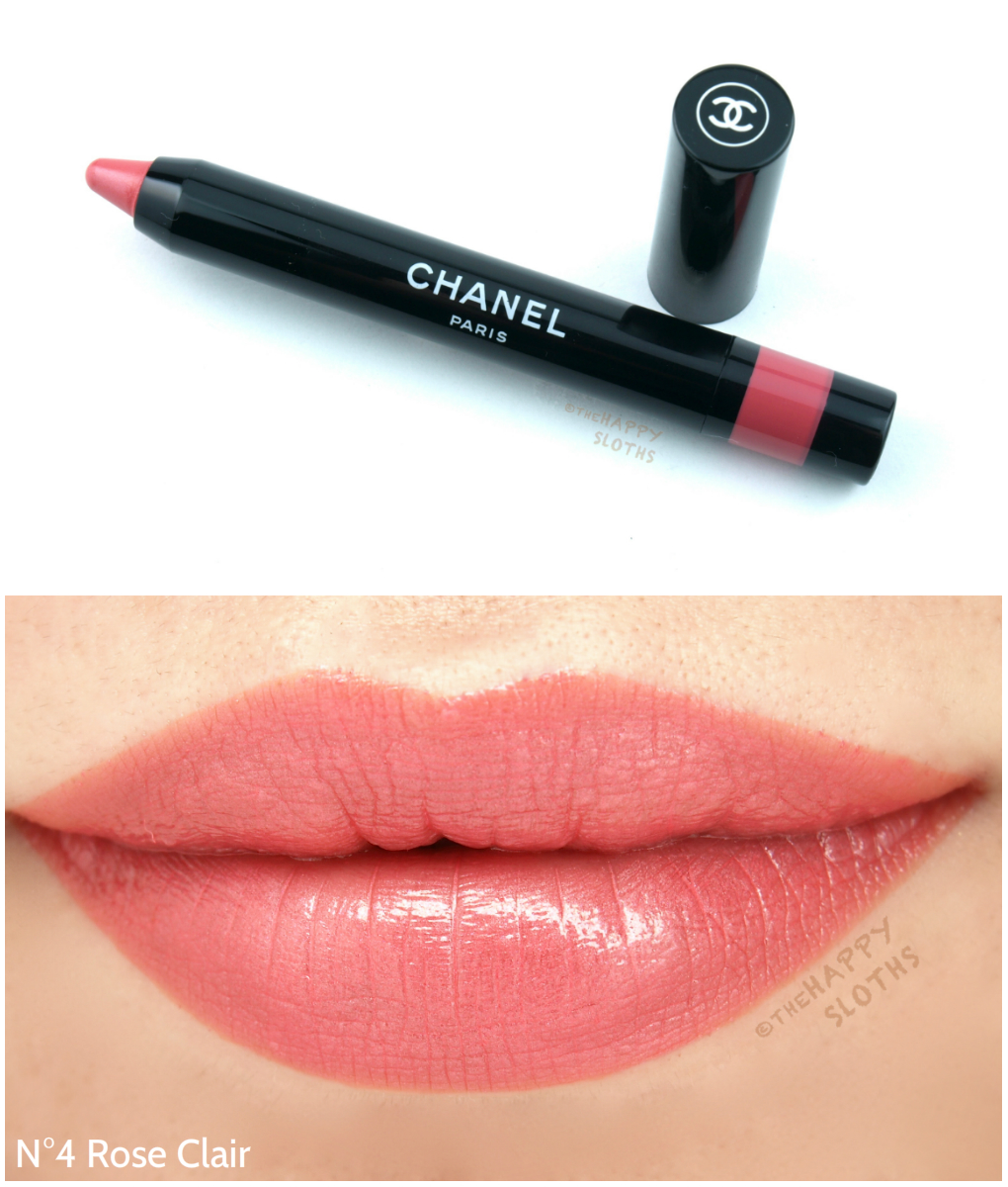 Chanel Le Rouge Crayon de Couleur Review and Swatches: N3 Rose Clair