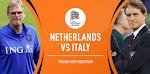 Prediksi Skor Belanda Vs Italia 8 September 2020