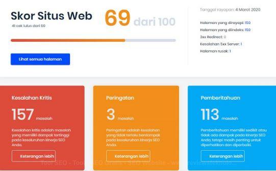 tool seo optimasi secara gratis dan terbaik untuk seo