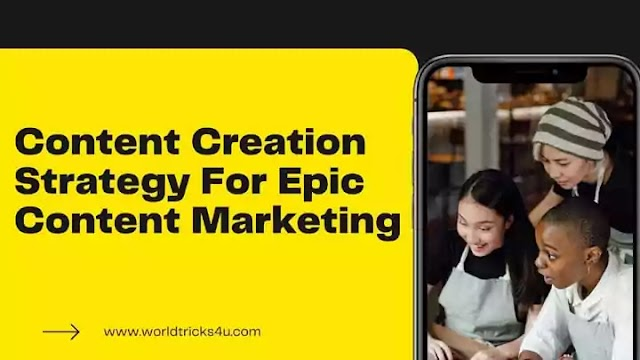 Content Creation Strategy for Epic Content Marketing