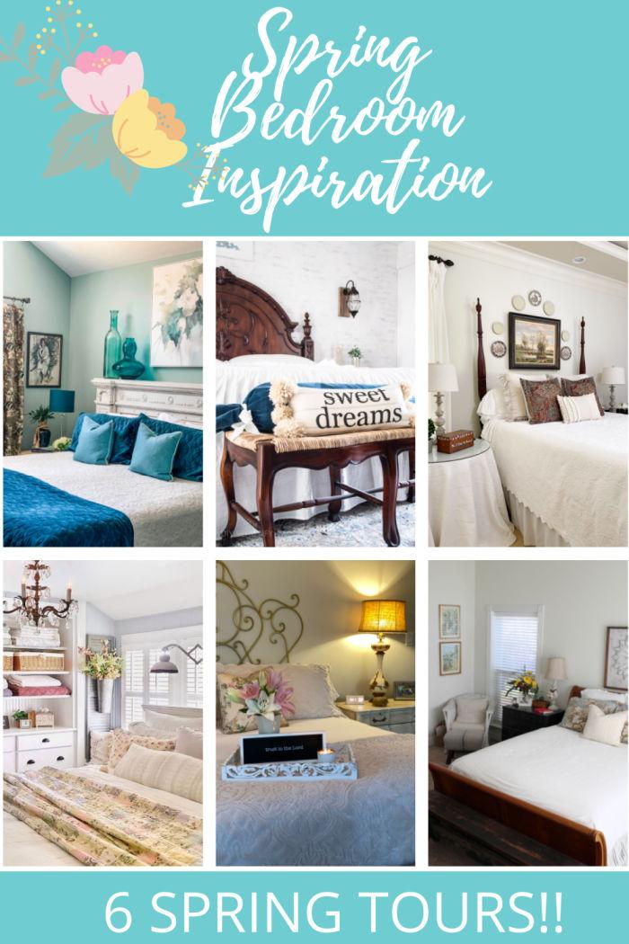Spring bedroom photos
