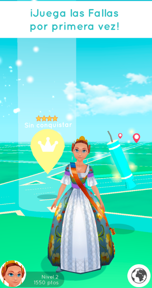 Surge Fallas Play and GO, clon de Pokémon GO para las fallas de Valencia
