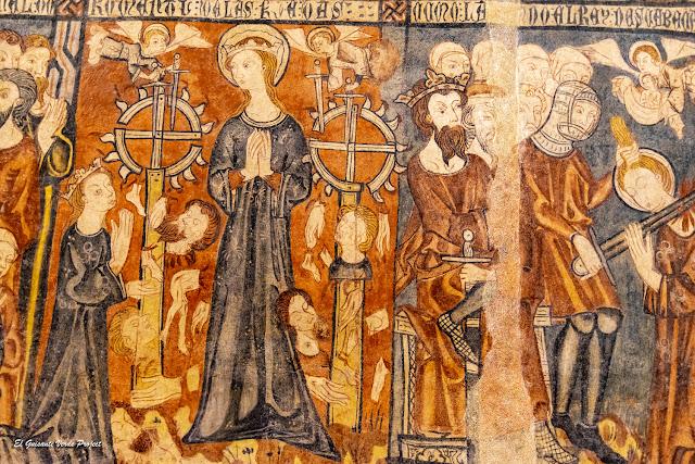 Santa Catalina (detalle) en San Sebastián de los Caballeros - Toro