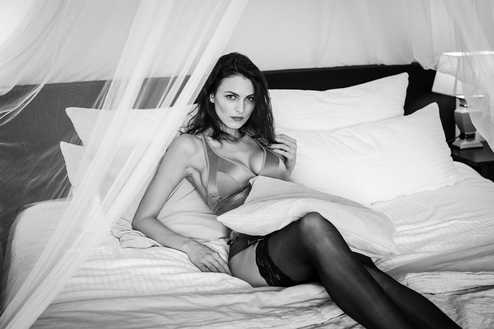 Ideen zum Home-Boudoir Shooting in Frankfurt