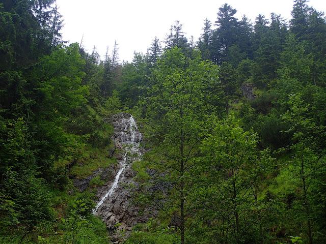 Wodospad w Strążyskiej