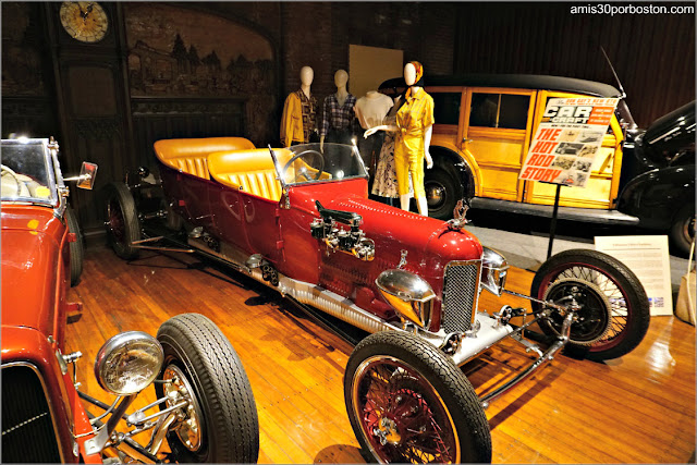 """Lookin' East: Art and Imagination of the New England Hod Rod"": 1924 Ford Track Speedster"