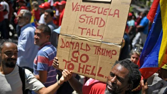 """""""Bloqueo de EEUU a Caracas causa más resistencia de venezolanos"""""""