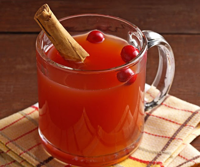 Cranberry Orange Cider #drinks #winter