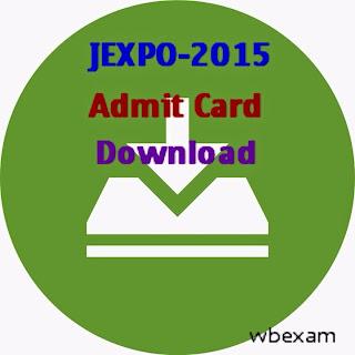 Download JEXPO-2015 Admit Card Online   Polytechnic Exam 1